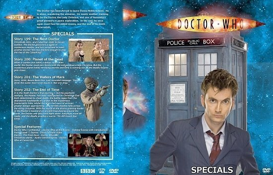 dvd cover Doctor Who Spanning Spine Volume 32 (The Specials)
