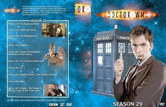 dvd cover Doctor Who Spanning Spine Volume 30 (Season 29 or Series 3)