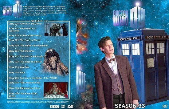 dvd cover Doctor Who Spanning Spine Volume 35 (Season 33 or Series 7)