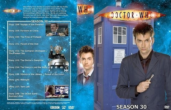 dvd cover Doctor Who Spanning Spine Volume 31 (Season 30 or Series 4)