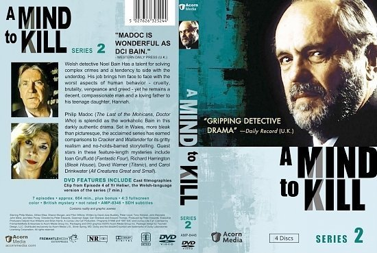 dvd cover A Mind to Kill Season 2