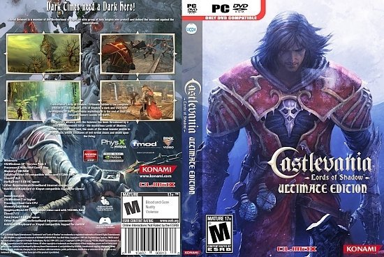 dvd cover Castlevania Lords of Shadow