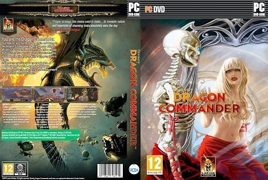 dvd cover Divinity Dragon Commander