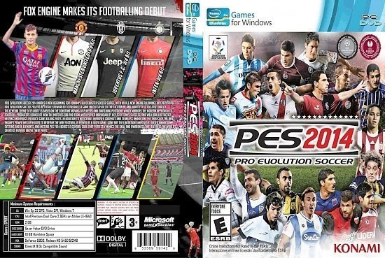 dvd cover Pro Evolution Soccer (PES)