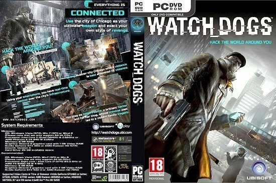 dvd cover Watch Dog