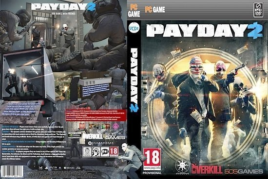 dvd cover Payday 2