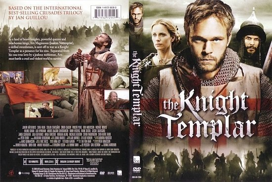 dvd cover The Knight Templar