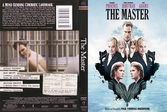 dvd cover The Master