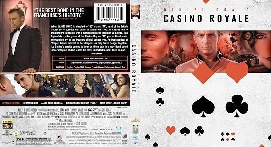 dvd cover Casino Royale (2006) Blu-Ray