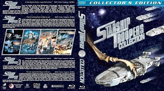 dvd cover Starship Troopers Collection