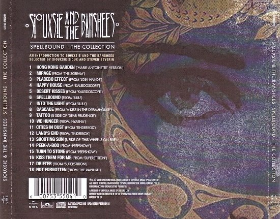 dvd cover Siouxsie & The Banshees - Spellbound - The Collection