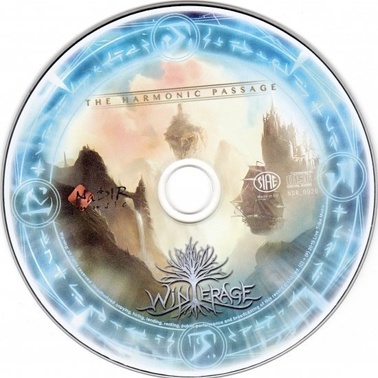 dvd cover Winterage - The Harmonic Passage