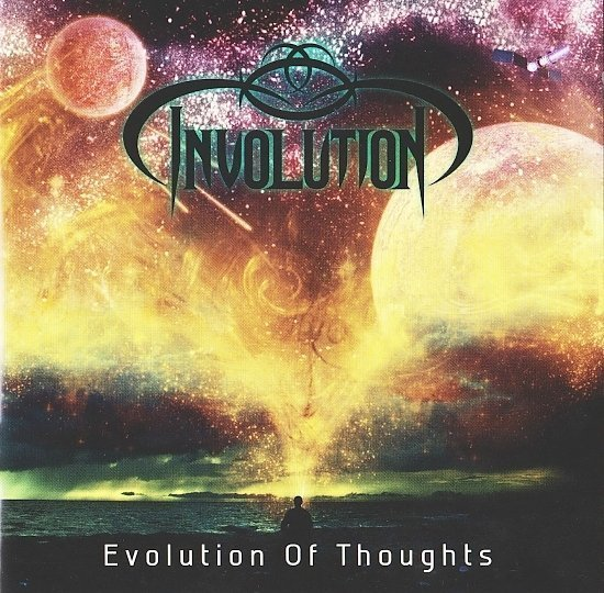 dvd cover Involution - Evolution Of Thoughts