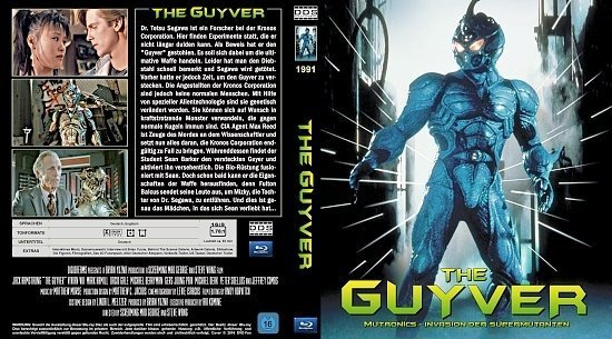 dvd cover The Guyver (1991) Blu-Ray (german)