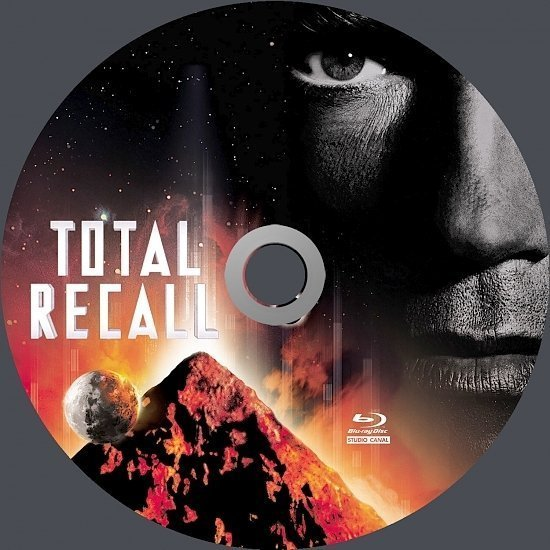 dvd cover Total Recall (1990) Blu-Ray (german)