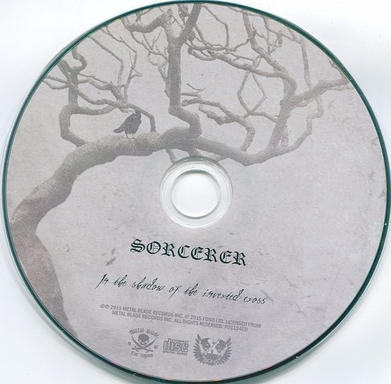 dvd cover Sorcerer - In The Shadow Of The Inverted Cross