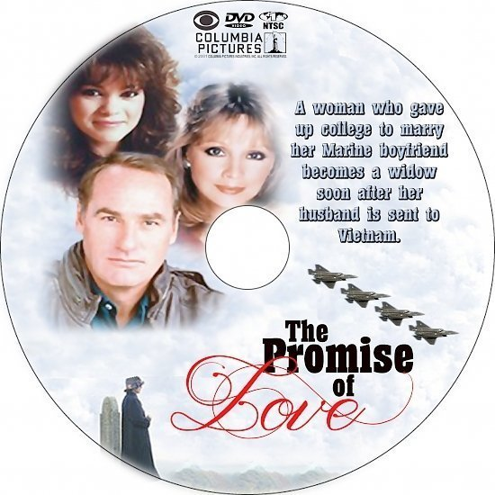 dvd cover The Promise of Love (1980) R1 Custom DVD Label