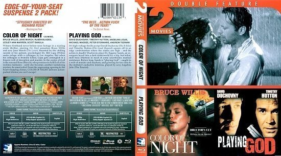 dvd cover Color Of Night / Playing God