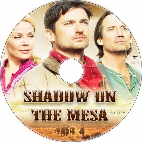 dvd cover Shadow on the Mesa Custom DVD Label