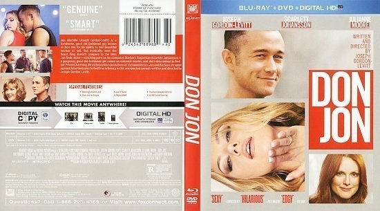 dvd cover Don Jon