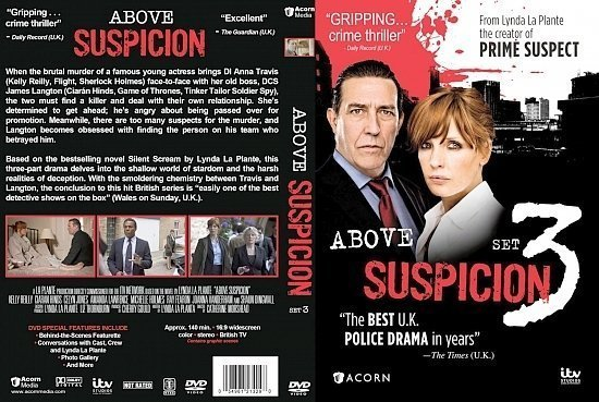 dvd cover Above Suspicion Set 3