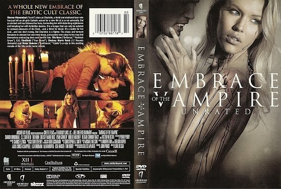 dvd cover Embrace of the Vampire R1