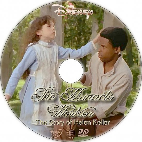 dvd cover The Miracle Worker (2000) R1 Custom DVD Label