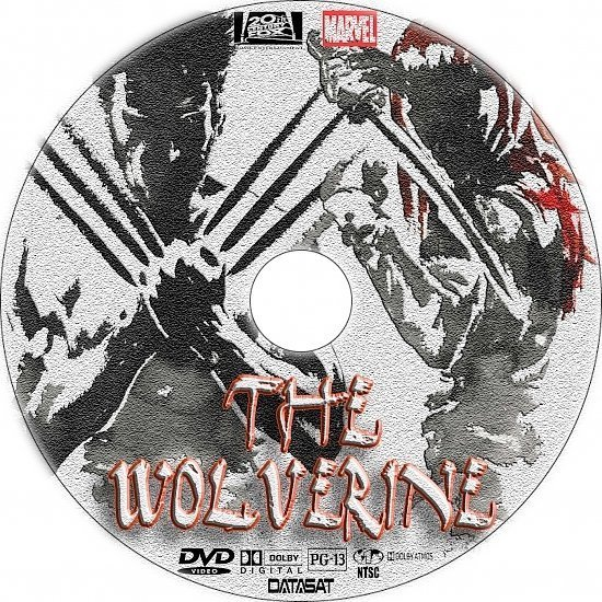 dvd cover The Wolverine R1 Custom DVD Labels
