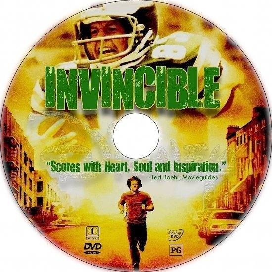dvd cover Invincible (2006) R1 Custom CD Cover
