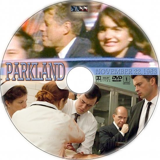 dvd cover Parkland R1 Custom DVD Label
