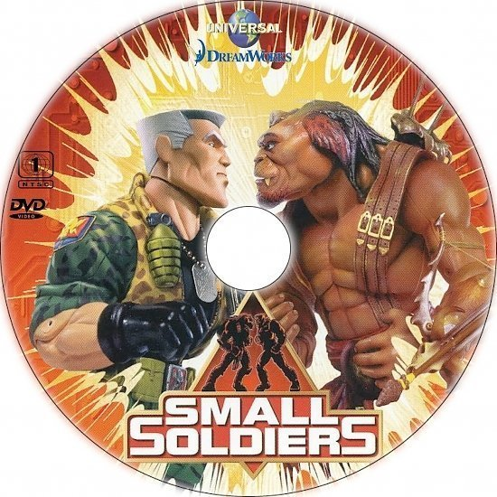 dvd cover Small Soldiers (1998) R1 Custom CD Cover