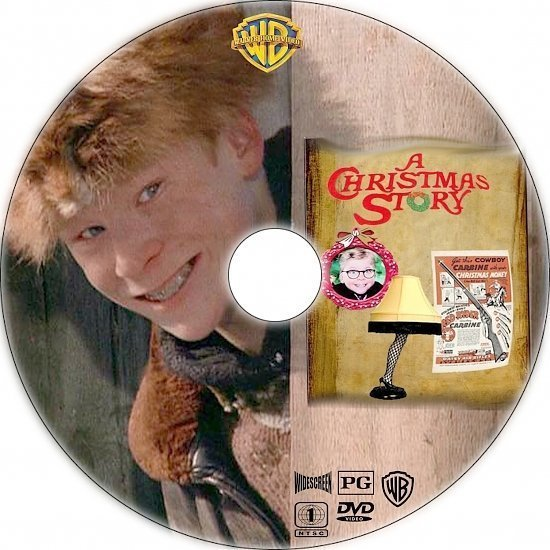 dvd cover A Christmas Story (1983) R1 Custom DVD Label