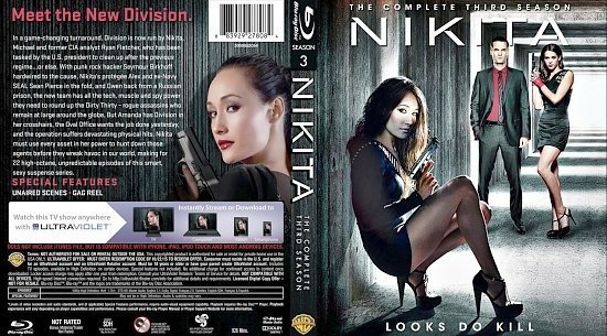 dvd cover Nikita Season 3