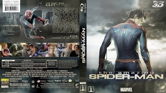 dvd cover The Amazing Spider Man Bluray TheQuickTech