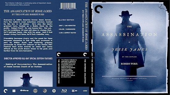 dvd cover The Assassination Of Jesse James