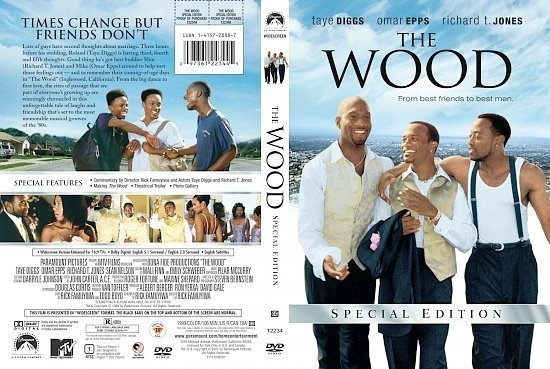 dvd cover The Wood R1