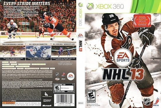 dvd cover NHL