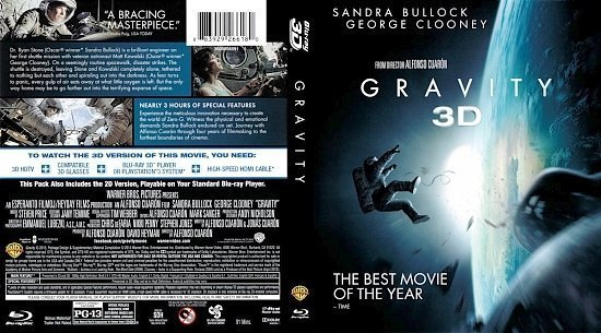 dvd cover Gravity 3D