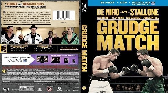 dvd cover Grudge Match