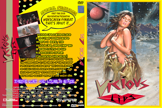 dvd cover Vicious Lips Version 1
