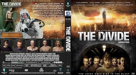 dvd cover The Divide 2011 BD