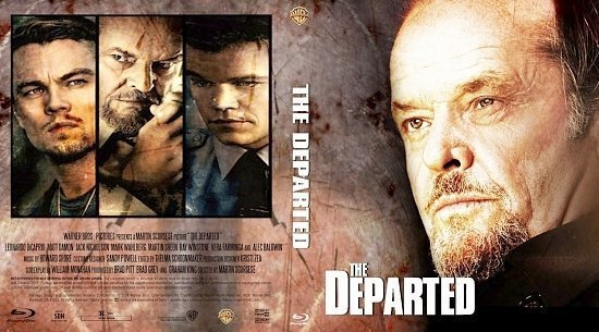dvd cover The Departed V3 by KLV2