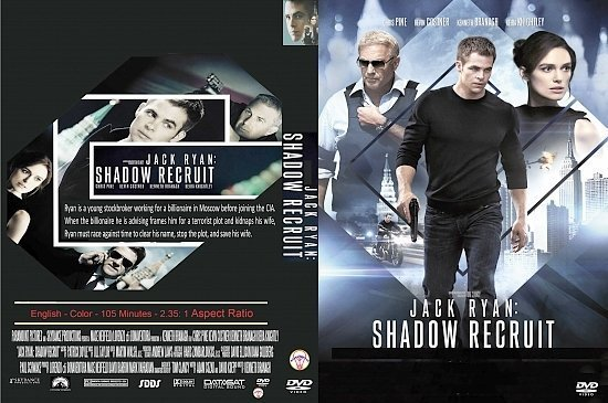 dvd cover Jack Ryan: Shadow Recruit