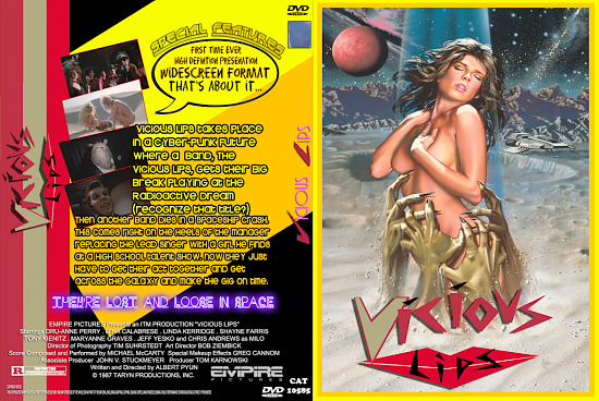 dvd cover Vicious Lips Version 2