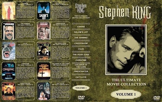 dvd cover Stephen King Collection Volume 1