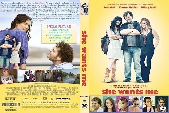 dvd cover She Wants Me