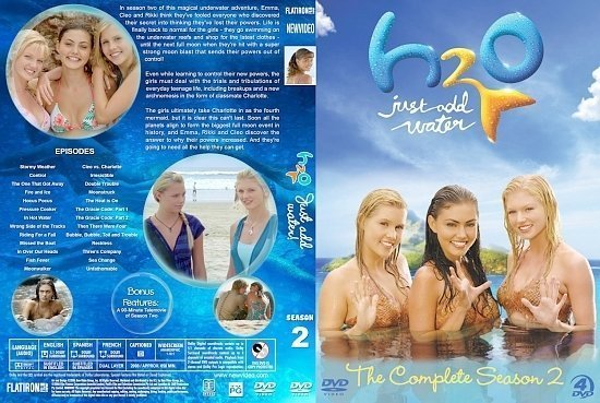 dvd cover H2O: Just Add Water Season 2