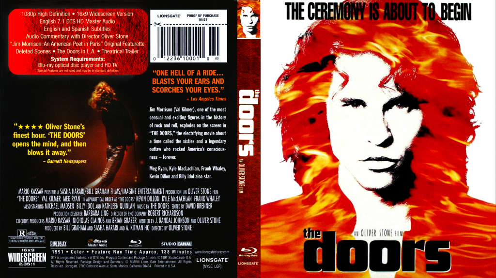 dvd cover The Doors & The Doors | Dvd Covers and Labels