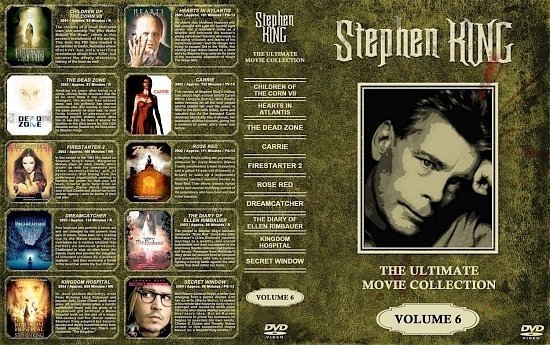 dvd cover Stephen King Collection Volume 6