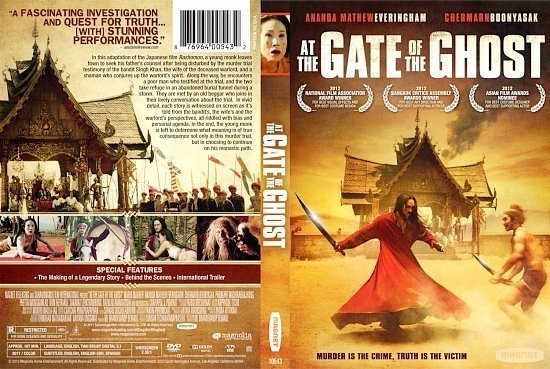 dvd cover At the Gate of the Ghost